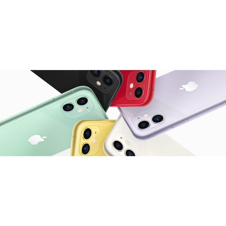 Apple iPhone 11 A2221 64 GB Smartphone - 15.5 cm 6.1And#34; HD - 4 GB RAM - iOS 13 - 4G - Yellow
