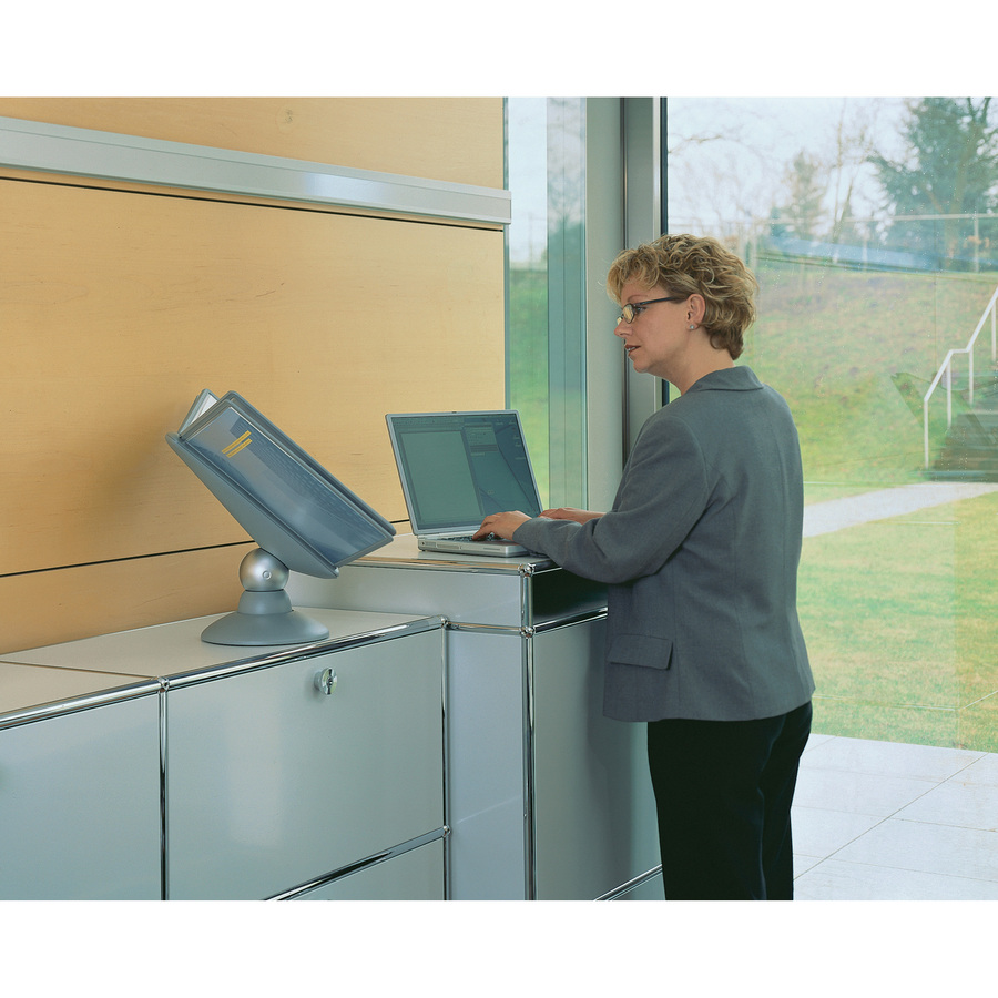 Durable Sherpa Motion Desk Reference System Dbl 553937