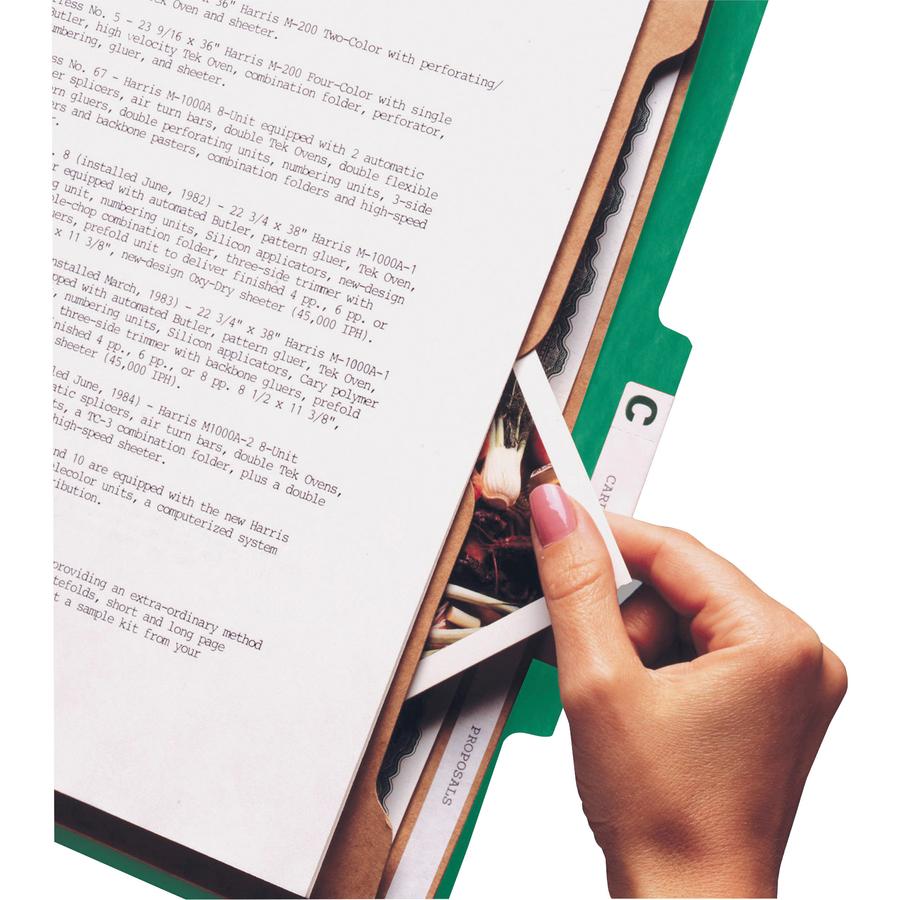 Smead 14083, Smead SafeSHIELD Classification Folder With Pocket Divider,  SMD14083, SMD 14083   Office Supply Hut