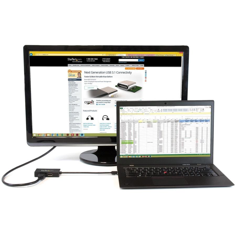 StarTech.com Travel A/V adapter