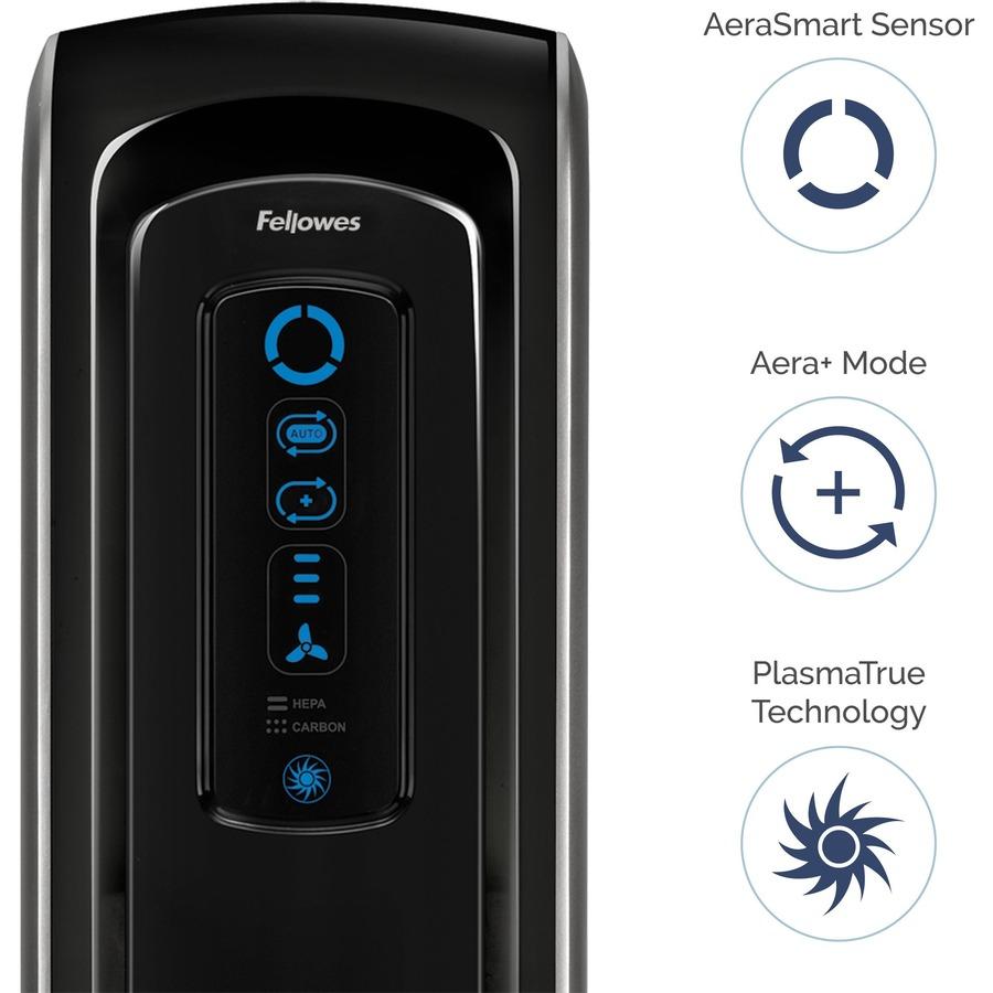 AeraMax® 90 Air Purifier - True HEPA, PlasmaTrue - 200 Sq. ft. - Black