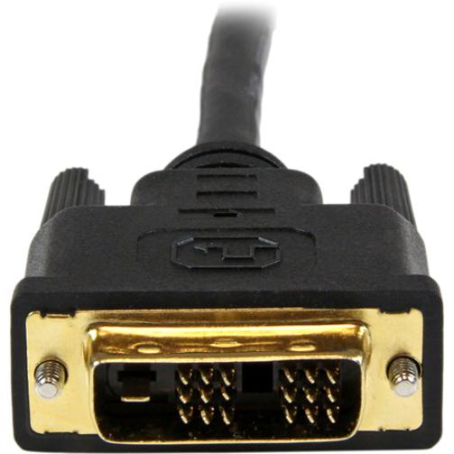 StarTech.com 1.5m HDMI to DVI-D Cable - M/M - 1 x HDMI Male Digital Audio/Video