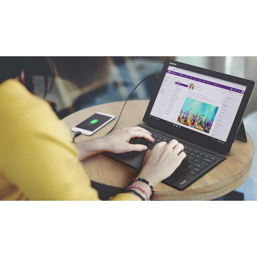 Lenovo IdeaPad Miix 510-12IKB 80XE0013UK 31 cm 12.2inch Touchscreen LCD 2 in 1 Notebook - Intel Core i3 6th Gen i3-6006U Dual-core 2 Core 2 GHz - 4 GB DDR4 SDRAM