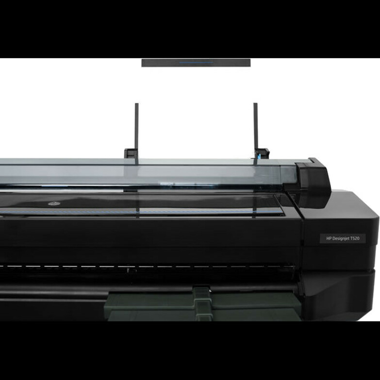 HP Designjet T520 Inkjet Large Format Printer - 914.40 mm 36inch Print Width - Colour - Printer - 4 Colors - 35 Second Color Speed - 2400 x 1200 dpi - USB - Etherne