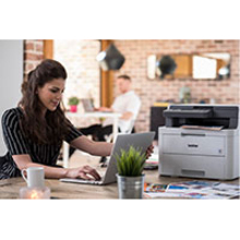 Brother DCP-L3550CDW LED Multifunction Printer - Colour - Plain Paper Print - Desktop - Copier/Printer/Scanner - 18 ppm Mono/18 ppm Color Print - 2400 x 600 dpi Prin