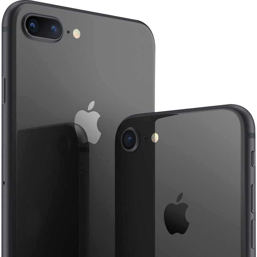 Apple iPhone 8 Plus A1897 128 GB Smartphone - 14 cm 5.5And#34; Full HD - 2 GB RAM - iOS 13 - 4G - Space Gray