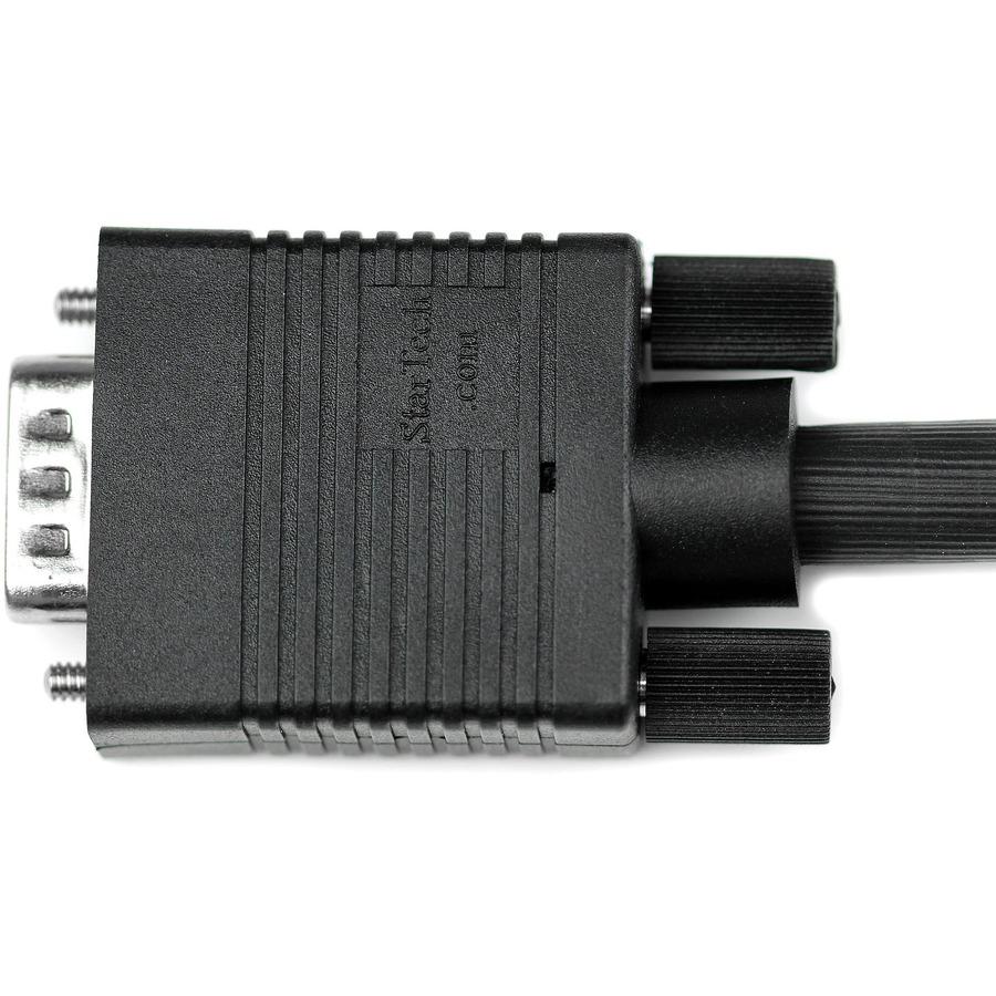 StarTech.com High-Resolution Coaxial SVGA - VGA Monitor cable - HD-15 M - HD-15 M - 1 x HD-15 Male Video