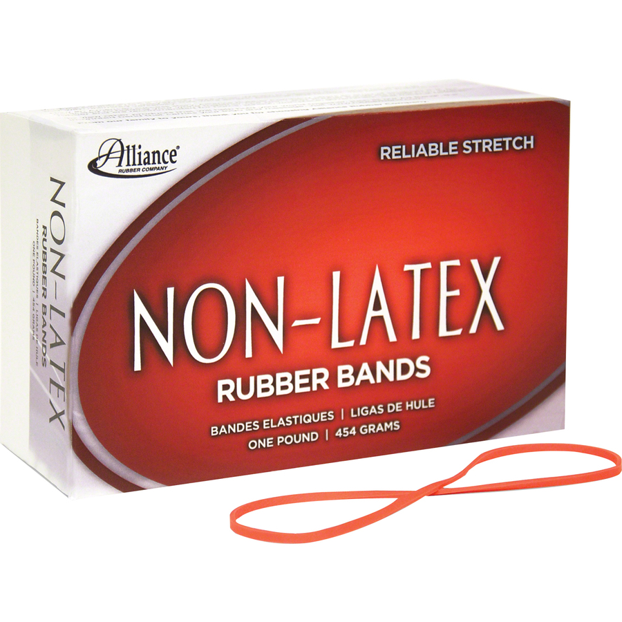 Alliance Rubber 37646 Non Latex Rubber Bands Size 64