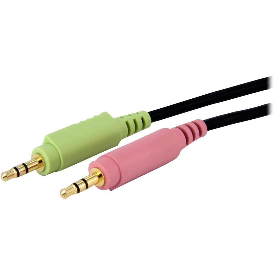 Startech DVI-D plus 3.5mm KVM Cable - 1.8m