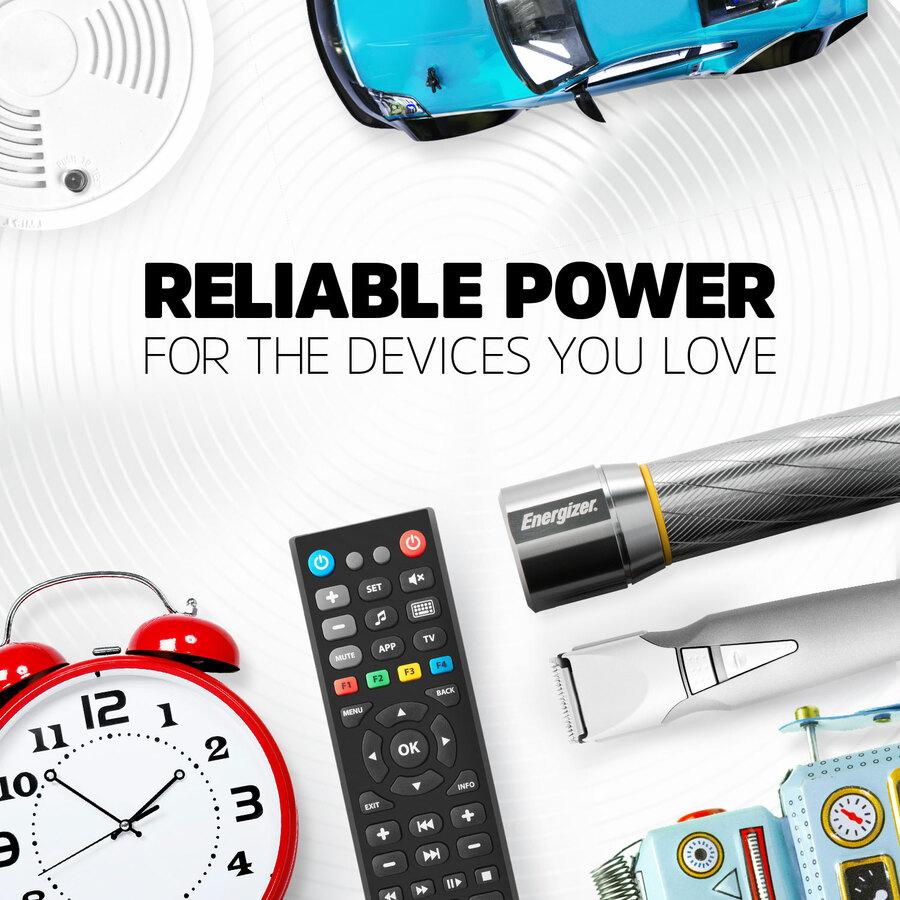 Energizer MAX Alkaline AA Batteries, 8 Pack - For Multipurpose - AA - 1.5 V DC - Alkaline - 8 / Pack