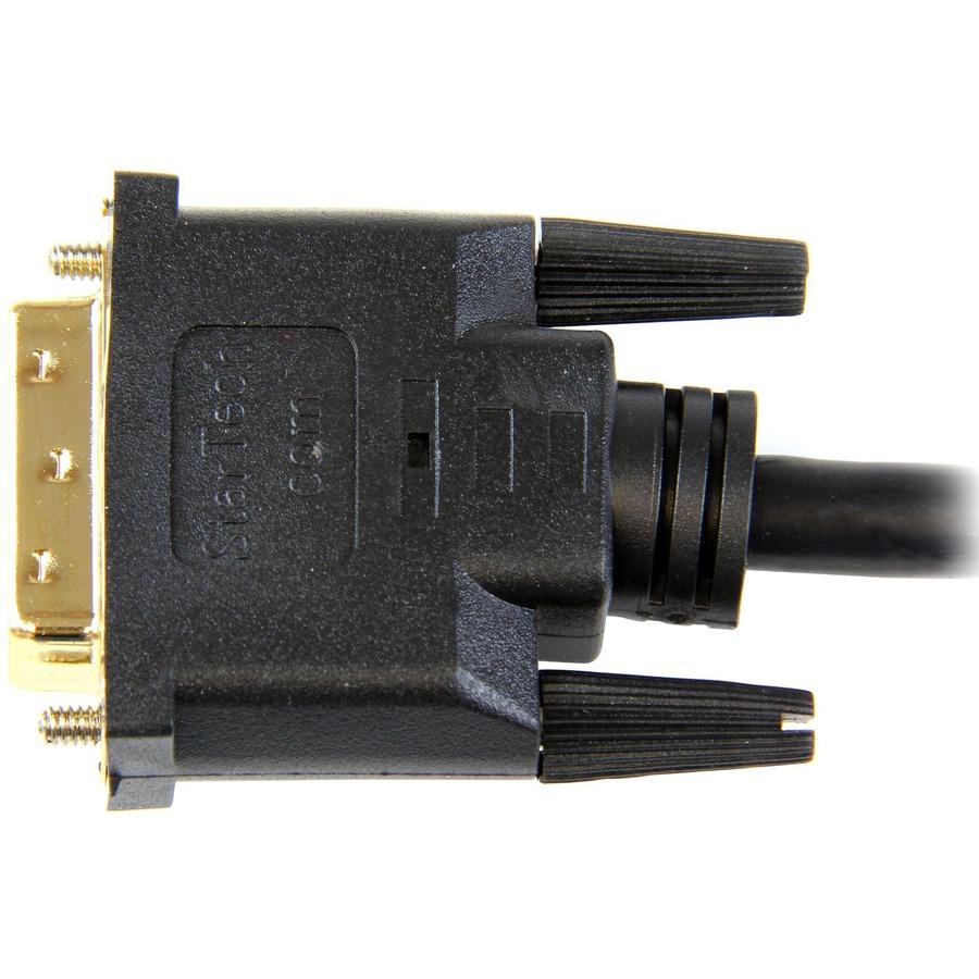 StarTech.com 1m HDMI to DVI-D Cable - M/M - 1 x HDMI Male Digital Audio/Video
