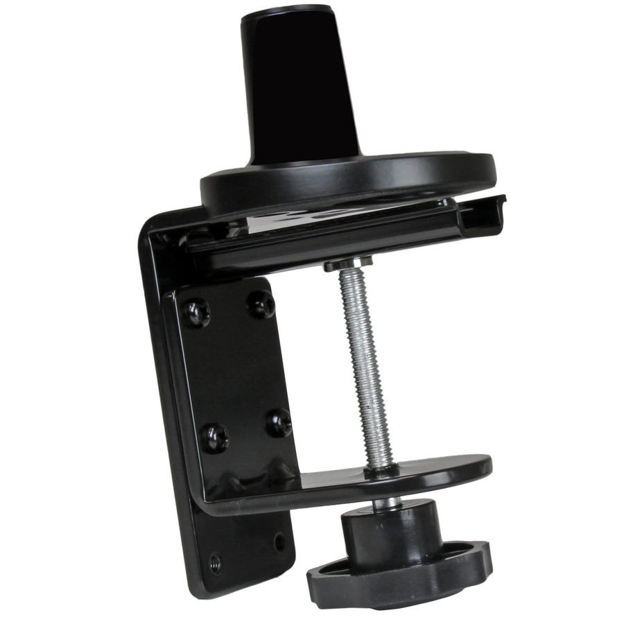 StarTech.com Monitor Mount with Articulating Arm and Slim-Profile Design - Desk Surface or Grommet Display Mount, with Spring-Assisted Height-Adjustment and Cable Ma