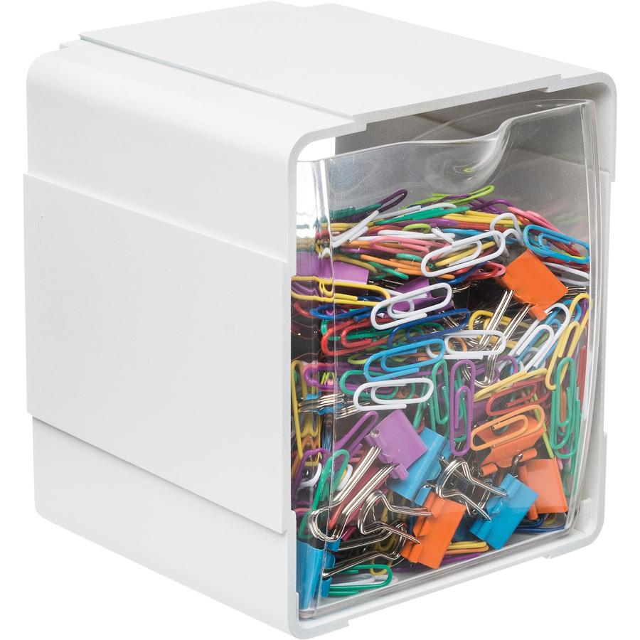 Buy Wholesale Deflect o Tilt Desktop Storage Bin : 1031869584 from www.bulkofficesupply.com size 2000 x 2000 jpeg 1534kB