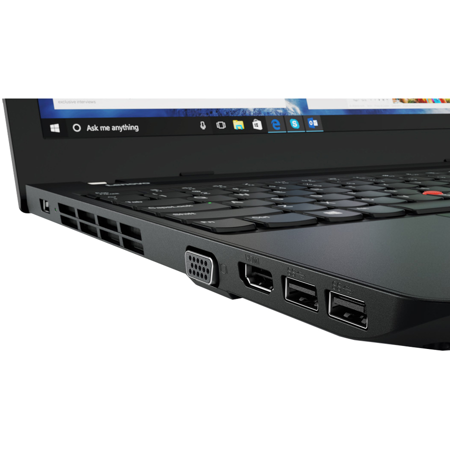 Lenovo ThinkPad E570 20H5007HUK 39.6 cm 15.6inch LCD Notebook - Intel Core i3 6th Gen i3-6006U Dual-core 2 Core 2 GHz - 4 GB DDR4 SDRAM - 128 GB SSD - Windows 10