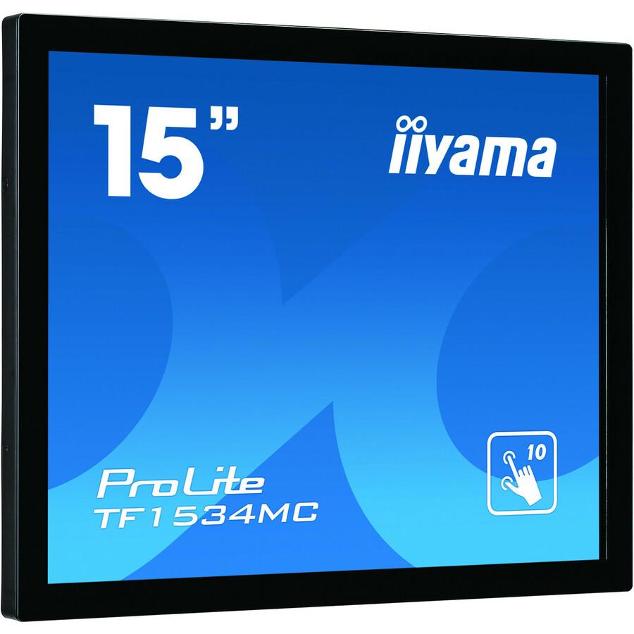 iiyama ProLite TF1534MC-B5X 38.1 cm 15inch Open-frame LCD Touchscreen Monitor - 4:3 - 8 ms - Projected Capacitive - Multi-touch Screen - 1024 x 768 - XGA - 16.2 Milli