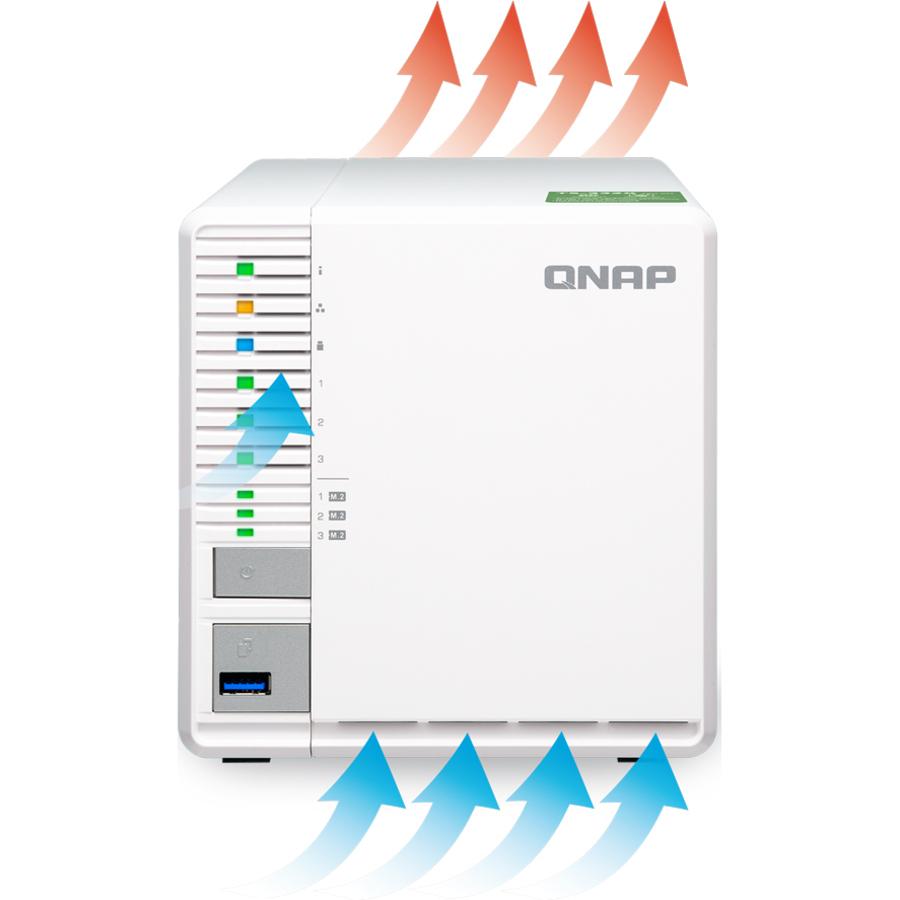 QNAP TS-351-2G SAN/NAS Storage System - CareTek Information ...