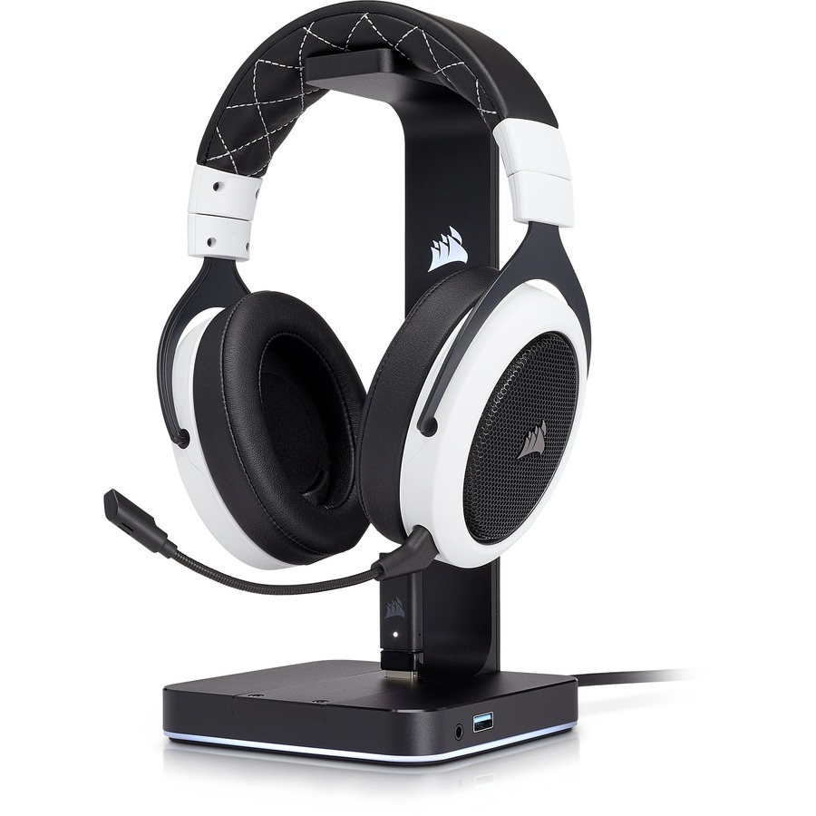 Corsair HS70 Wireless Over-the-head Stereo Headset - White