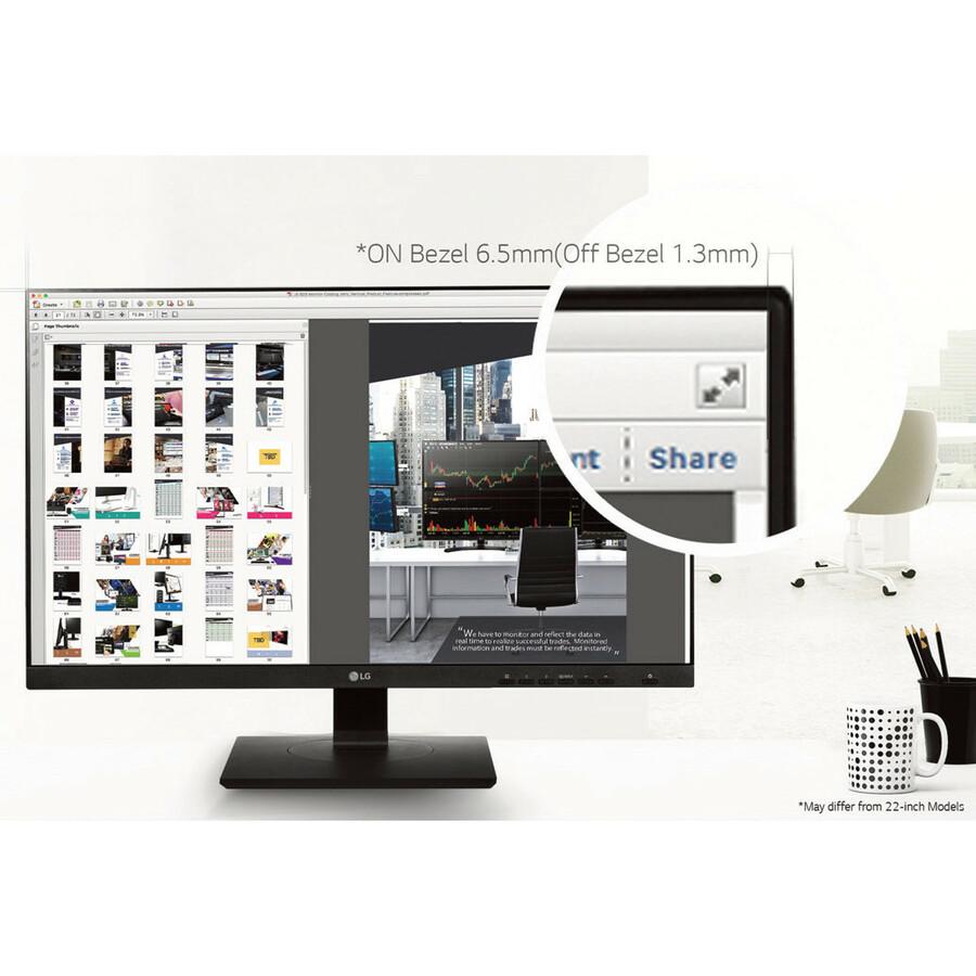 LG 24BK750Y-B 24inch LED Monitor - 16:9 - 5 ms