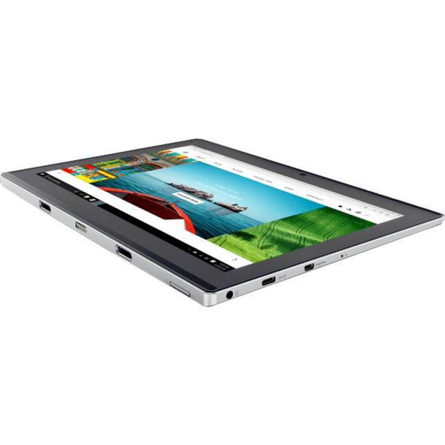 Lenovo IdeaPad Miix 320-10ICR 80XF002KUK 25.7 cm 10.1inch Touchscreen LCD 2 in 1 Notebook - Intel Atom x5-Z8350 Quad-core 4 Core 1.44 GHz - 4 GB LPDDR3 - 64 GB Flas