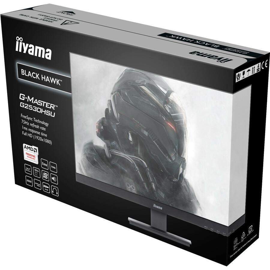 iiyama G-MASTER G2530HSU-B1 24.5inch LED Monitor - 16:9 - 1 ms