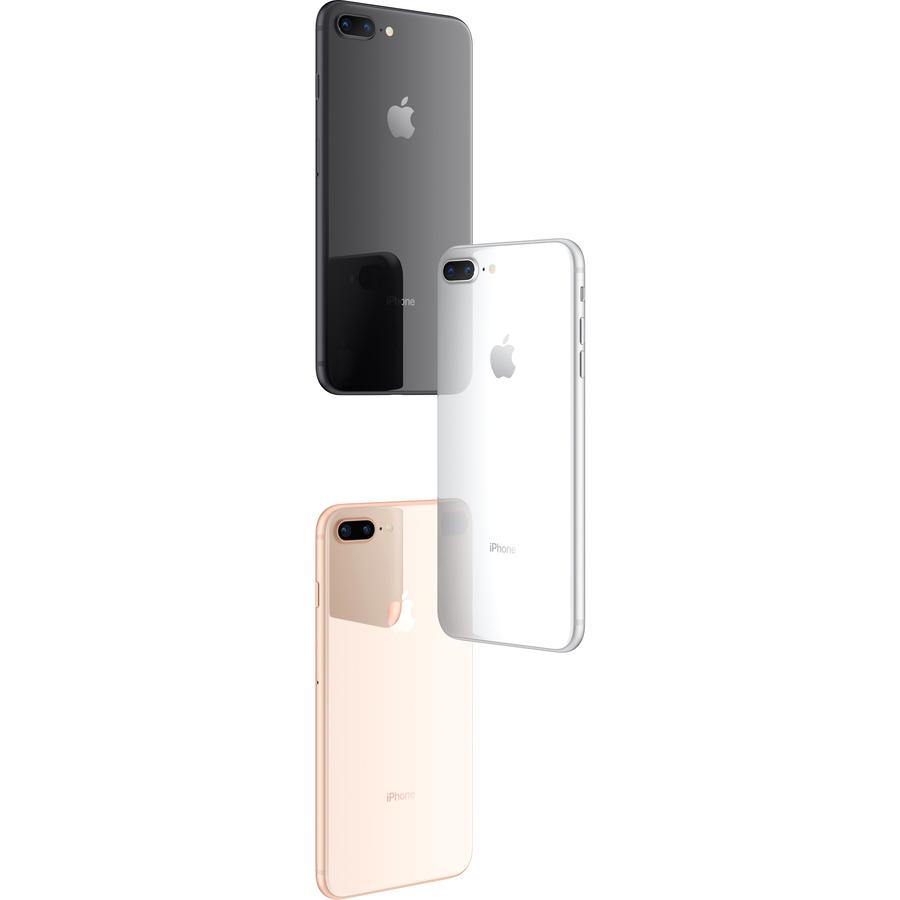 Apple iPhone 8 Plus 64 GB Smartphone - 14 cm 5.5And#34; Full HD - 3 GB RAM - iOS 11 - 4G - Silver