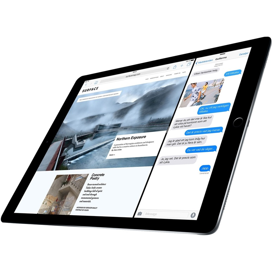 Apple iPad Pro Tablet - 32.8 cm 12.9inch - Apple A9X - 128 GB - iOS 9 - Retina Display - Space Gray