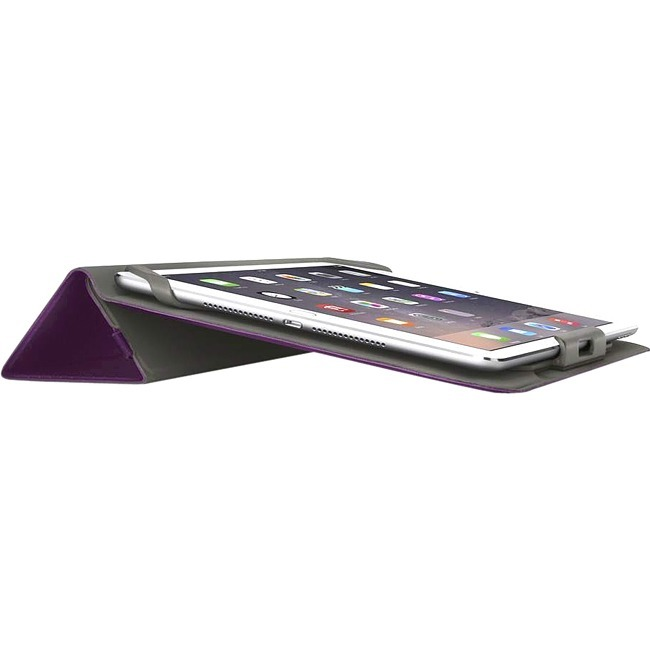Belkin Carrying Case Folio for 25.4 cm 10inch iPad Air, iPad Air 2, Tablet - Pinot - Fabric