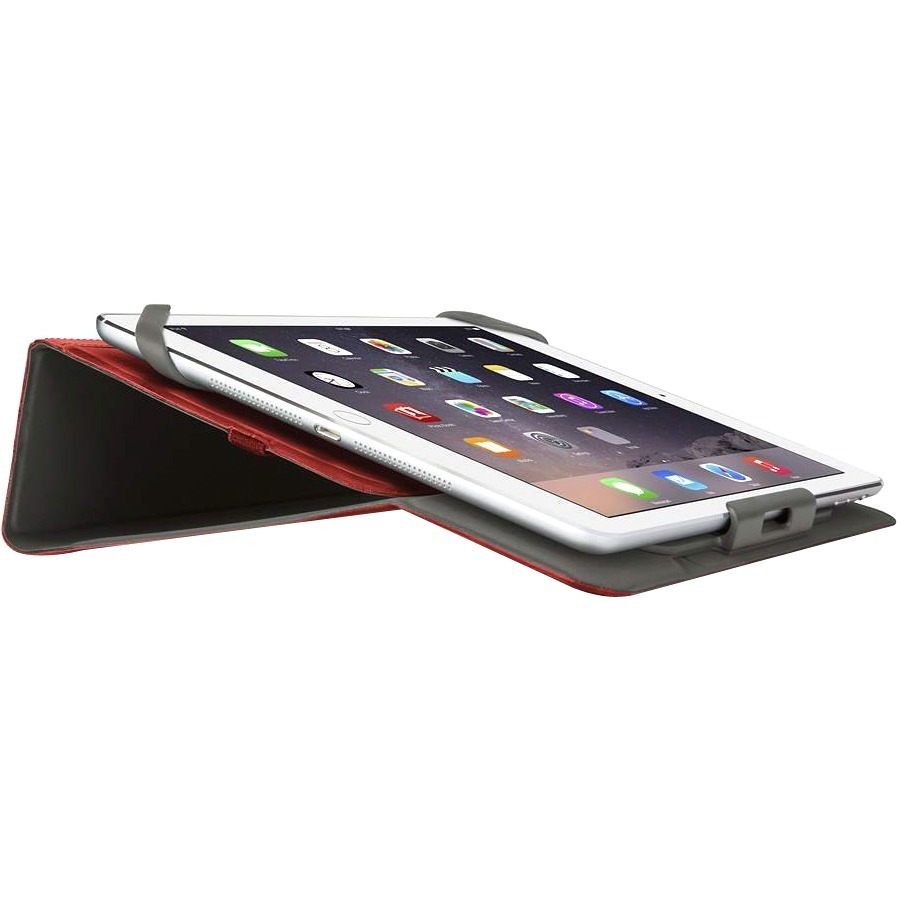 Belkin Twin Carrying Case Folio for 25.4 cm 10inch iPad Air 2 - Black, Red