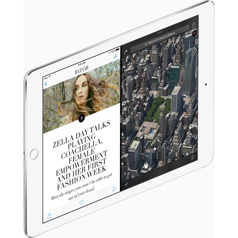 Apple iPad Pro Tablet - 24.6 cm 9.7inch - Apple A9X Dual-core 2 Core - 256 GB - iOS 9 - 2048 x 1536 - Retina Display - Silver - 4:3 Aspect Ratio - Wireless LAN - Bl