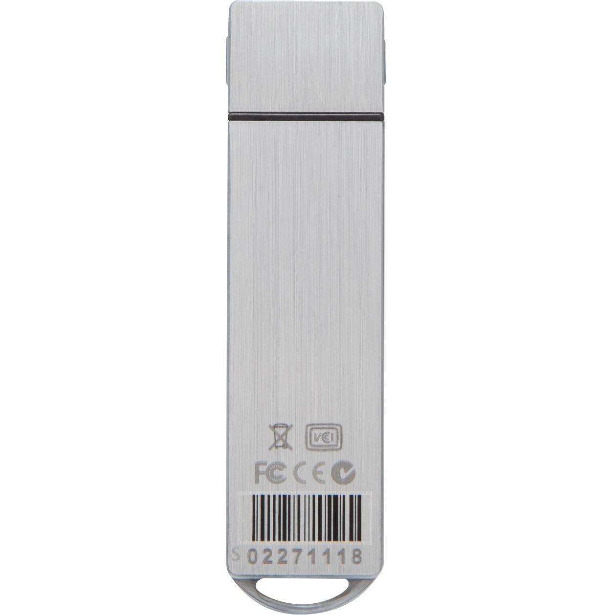 IronKey Basic S1000 8 GB USB 3.0 Flash Drive - 256-bit AES