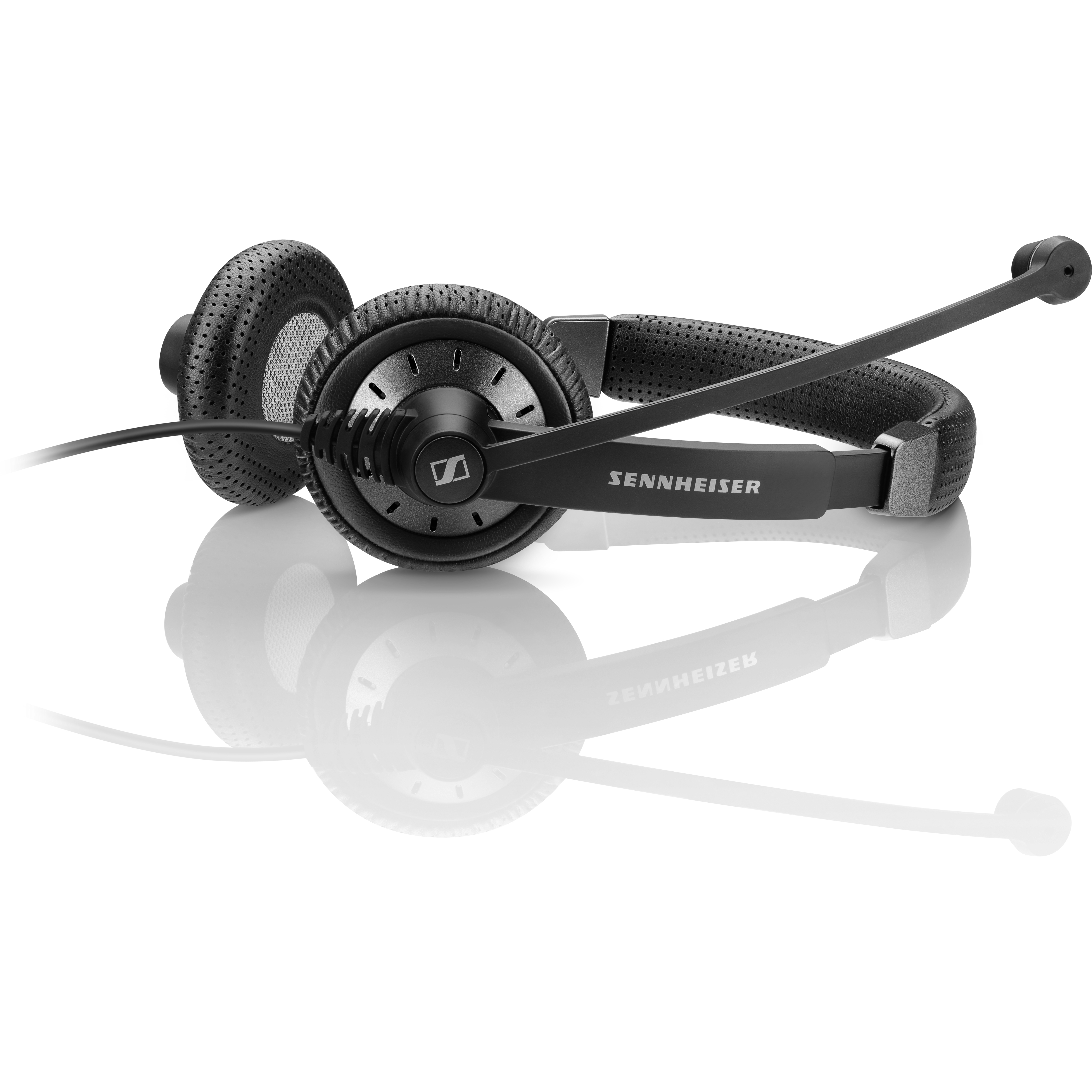 Sennheiser Culture Plus SC 75 USB MS Wired Stereo Headset - Over-the-head - Supra-aural - Black