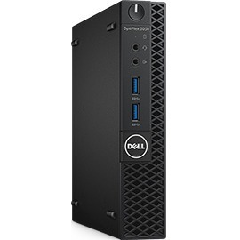 Dell OptiPlex 3050 Desktop Computer - Intel Core i5 7th Gen i5-7500T 2.70 GHz - 4 GB DDR4 SDRAM