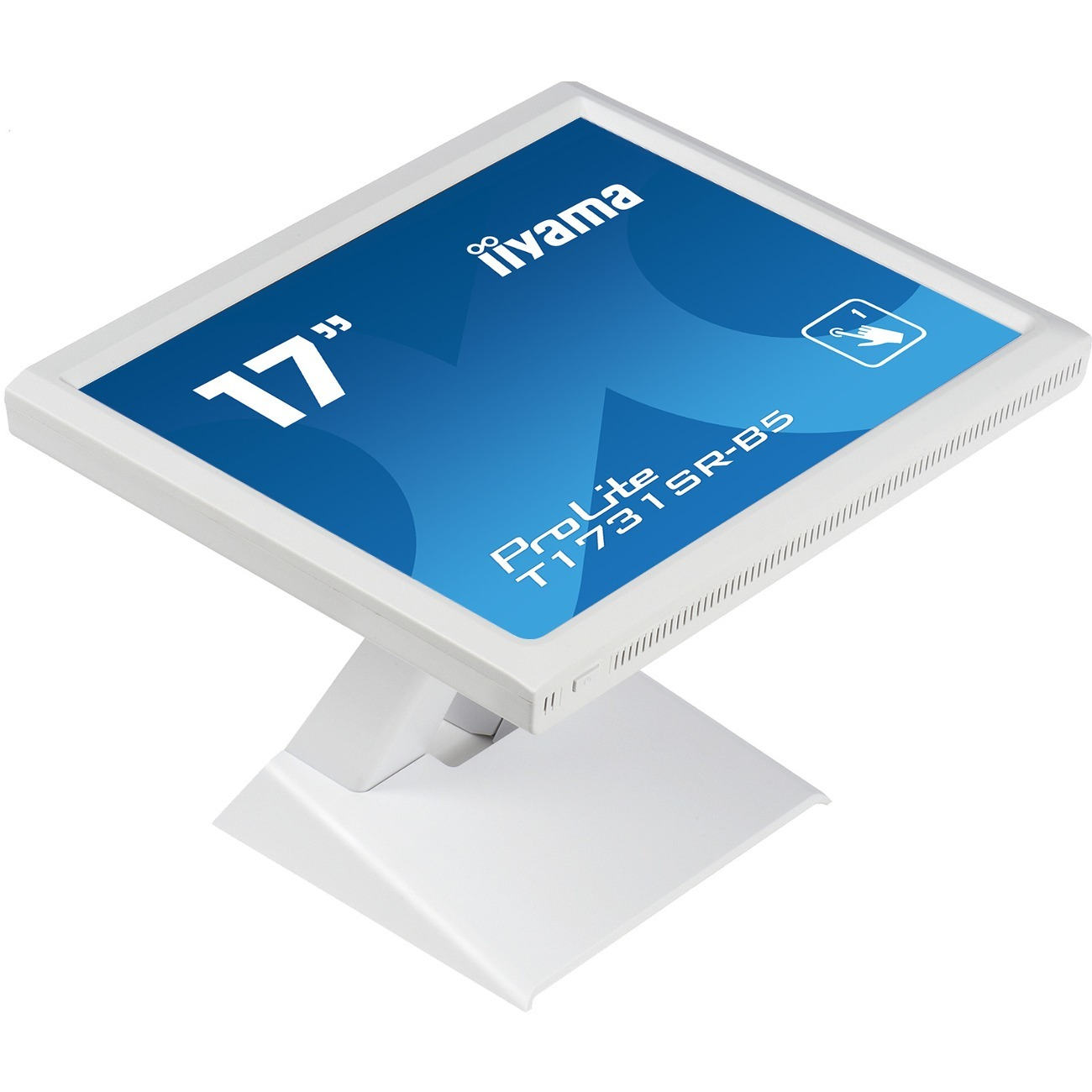 iiyama ProLite T1731SR-W5 43.2 cm 17And#34; LCD Touchscreen Monitor - 5:4 - 5 ms - 5-wire Resistive - 1280 x 1024 - SXGA - 16.7 Million Colours - 250 cd/mAndamp;#178;, 200 cd/