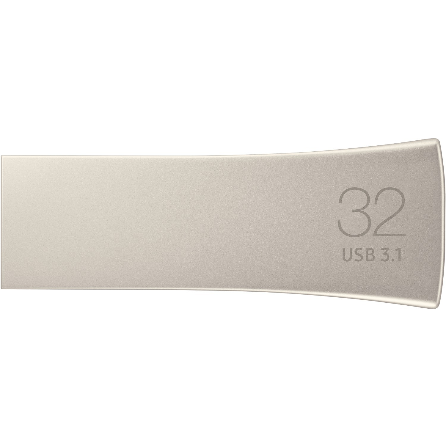 Samsung BAR Plus 32 GB USB 3.1 Type A Flash Drive - Champagne Silver - 1