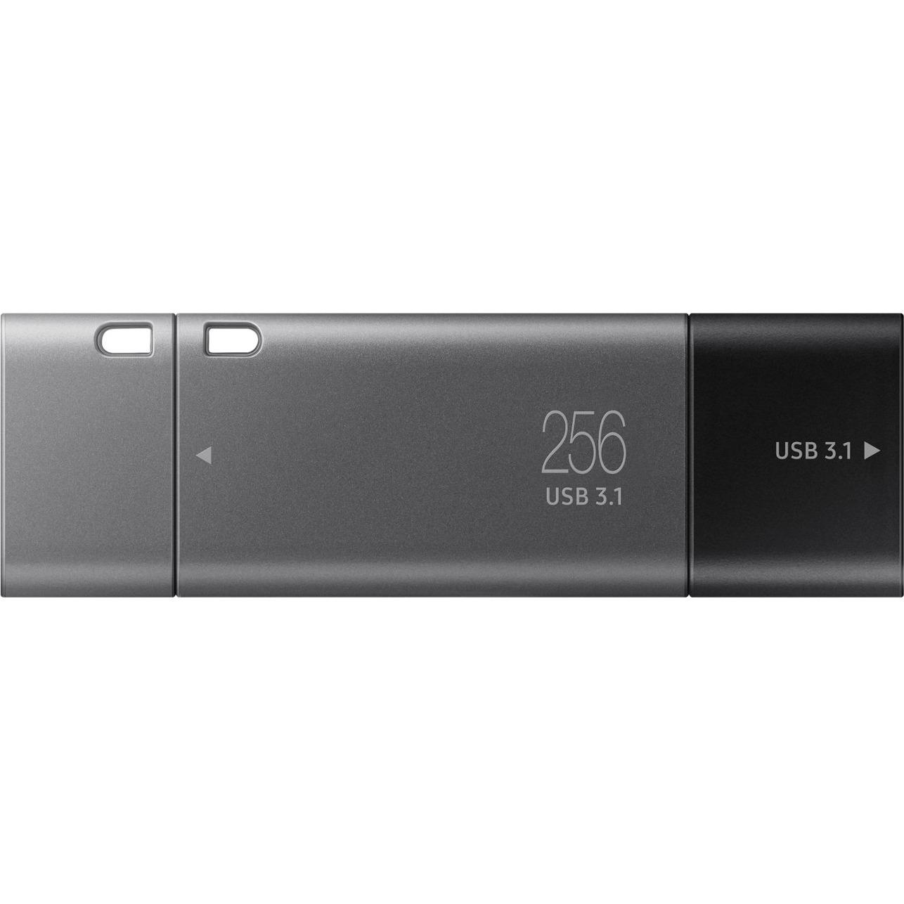 Samsung Duo Plus 256 GB USB 3.1 Type C, USB 3.1 Type A Flash Drive