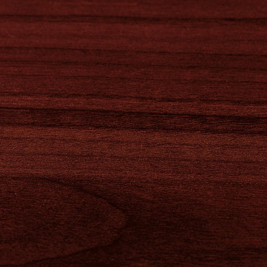 Lorell Essentials Series Mahogany Corner Desk