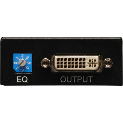 Tripp Lite DVI Over Cat5/Cat6 Active Video Extender Remote Video Receiver  1920 x 1080 200'