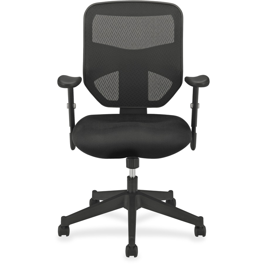 basyx by hon hvl531 mesh high back task chair  bsx