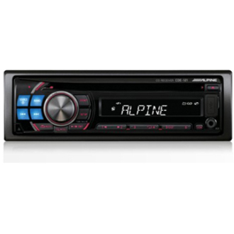 Alpine CDE-121 CD/MP3/AAC/WMA Receiver
