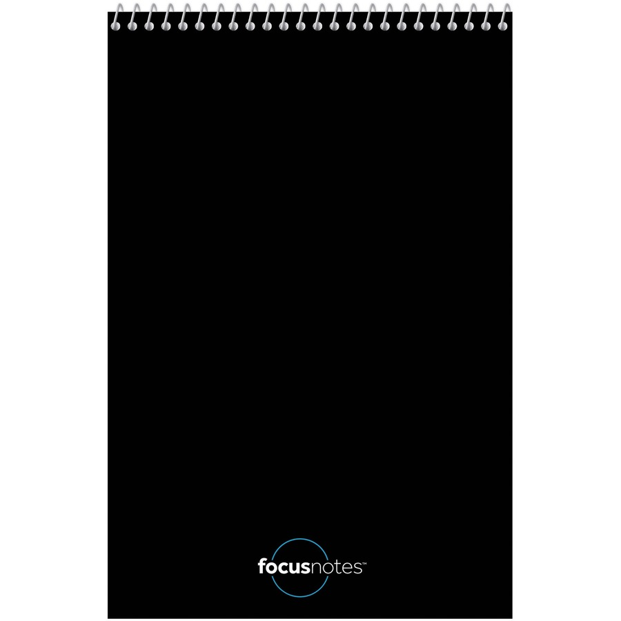 TOPS Innovative Steno Project Ruled Notebook - 80 Sheets - Wire Bound - 20  lb Basis Weight - 6