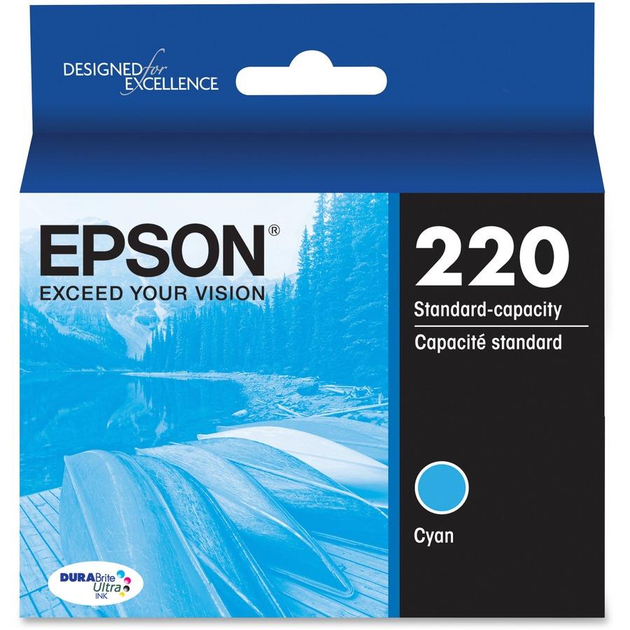 Epson DURABrite Ultra Ink T220 Original Ink Cartridge --EPST220220