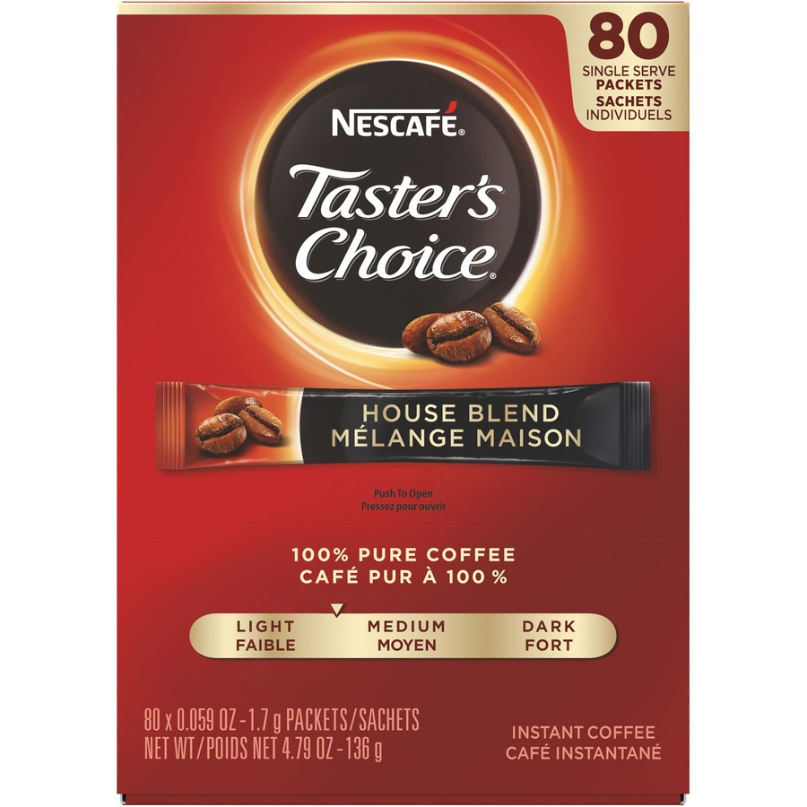 Nestle instant coffee packets