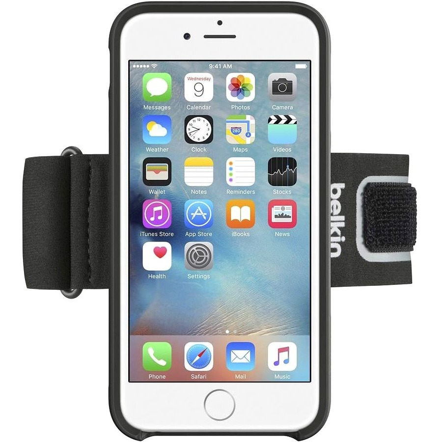 finest selection 02058 582e6 Belkin Clip-Fit Carrying Case (Armband) iPhone 6, iPhone 6S - Black