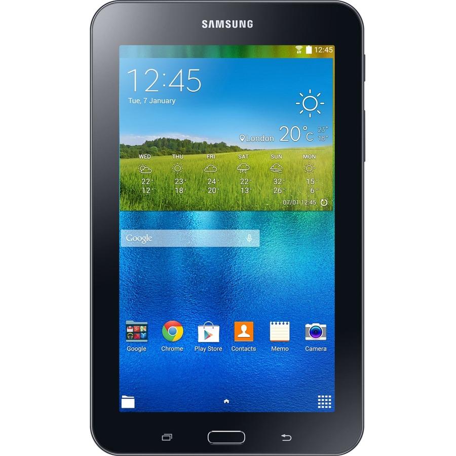 Samsung Galaxy Tab E Lite SM-T113 Tablet - 7 Inch - 1 GB RAM - 8 GB Storage  - Android 4 4 KitKat - Black