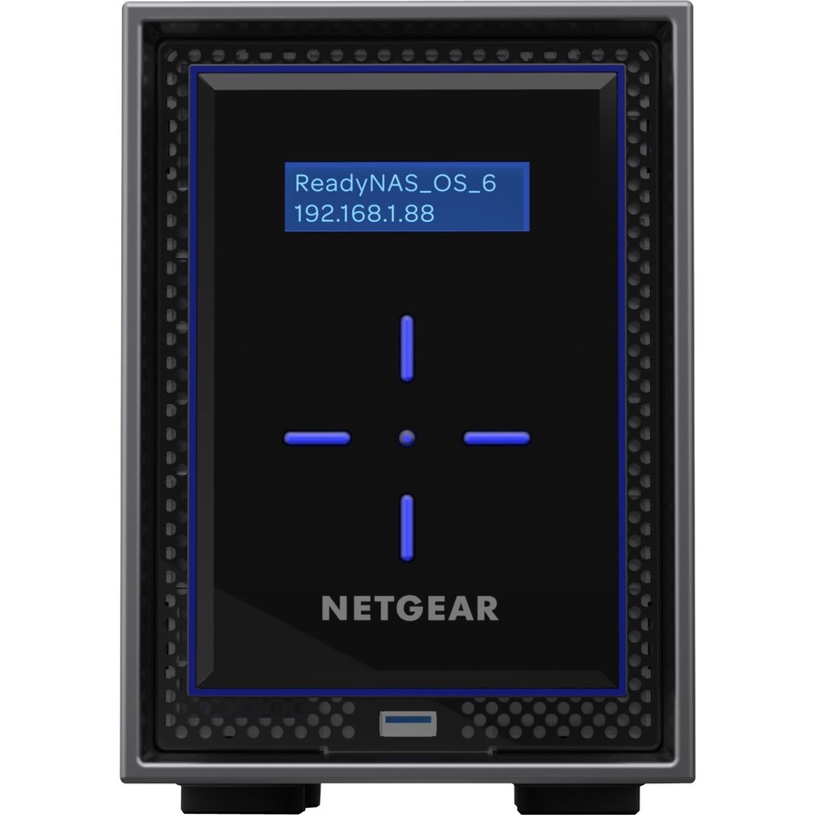 Netgear ReadyNAS 422, Desktop 2-bay, 2x6TB Desktop HDD