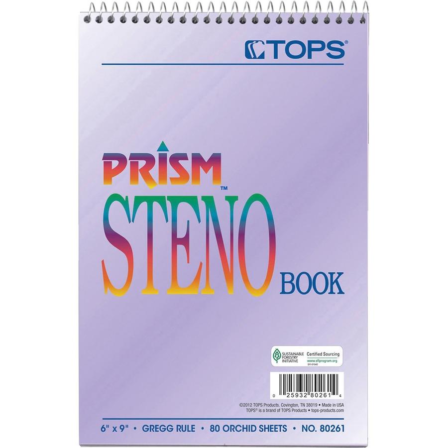 TOPS Gregg Prism Steno Notebooks TOP80264