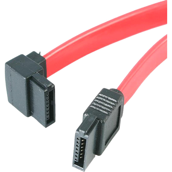 StarTech.com 6in SATA to Left Angle SATA Serial ATA Cable - SATA for Optical Drive