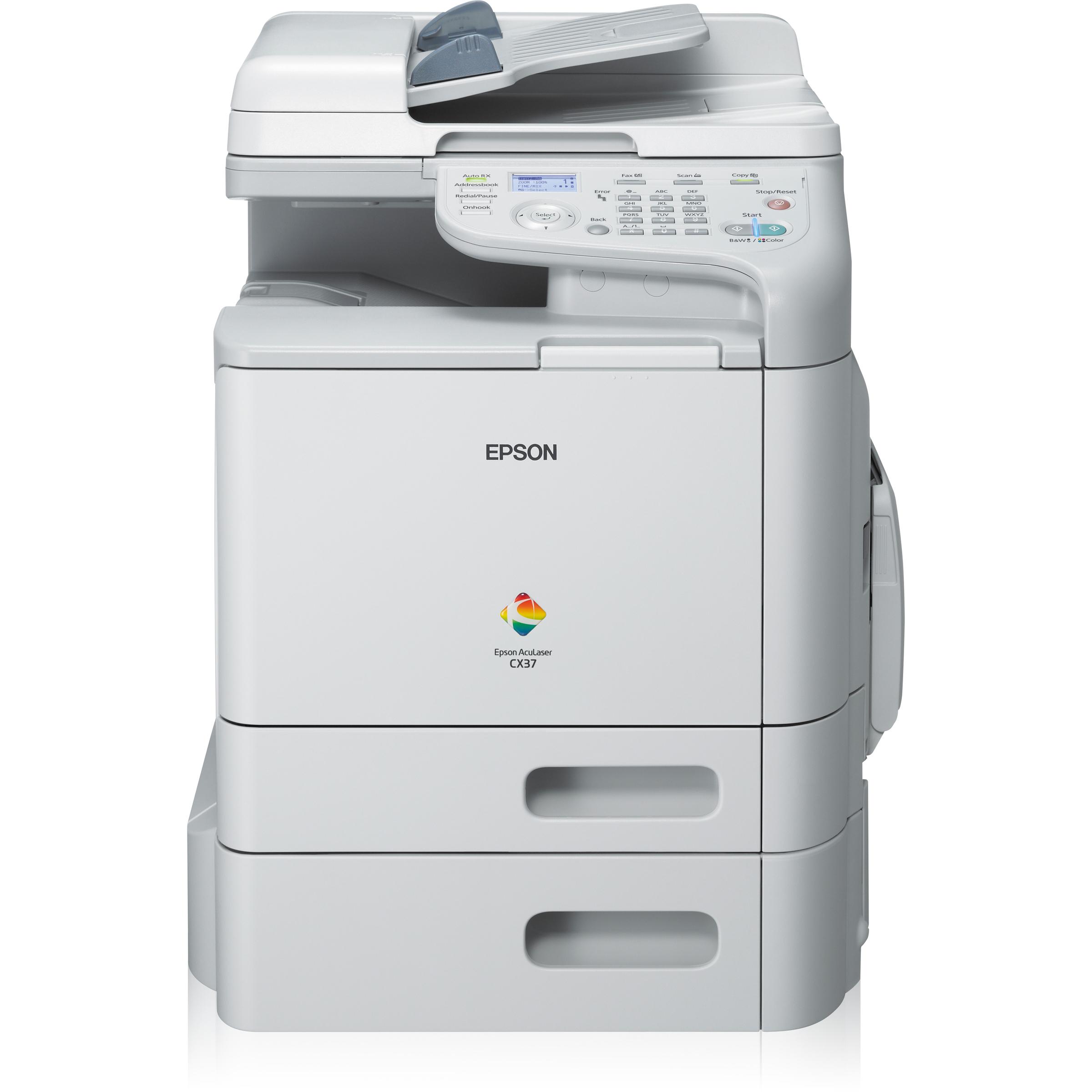 Epson AcuLaser CX37DTN Laser Multifunction Printer - Colour - Plain Paper Print - Desktop