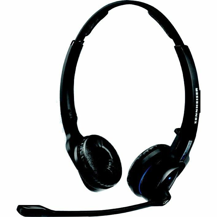 Sennheiser MB Pro 2 UC Wireless Bluetooth Stereo Headset - Over-the-head - Supra-aural - 25 m - 150 Hz - 15 kHz
