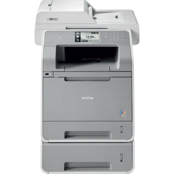 Brother MFC MFC-L9550CDWT Laser Multifunction Printer - Colour - Plain Paper Print - Desktop
